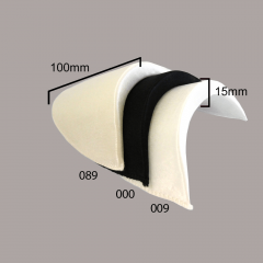 Schulterpolster Satin 12mm - 30 Paar