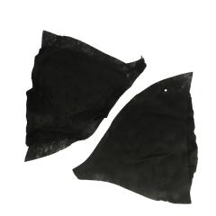 Schulterpolster Sakkos/Blazer 218 - 10 Stück - schwarz