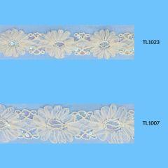 Band mit Blumen 55-65mm - 6,5m