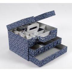 DMC Blue Boxes Aufbewahrungsbox 24x32x21,5cm - 1Stk