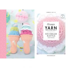 YARN The After Party Nr.56 Ice Cream Rattle - 20Stk